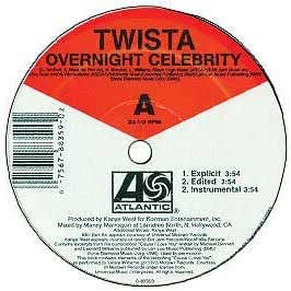 From what song did Twista sample Over Night Celebrity ...