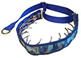 Lola's Limited Secret Powers Training Collar (3.2 mm, 10 prongs; Thick Fur, 20''-25'' Neck) (3.2mm, 10prong, X-Large, Green Camo)