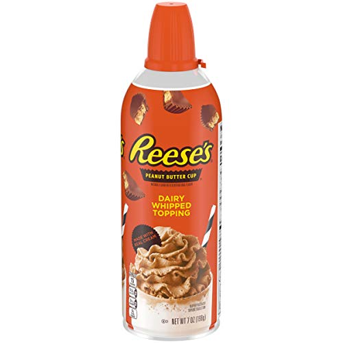 Flavored Whipped Cream - REESE'S Dairy Whipped Topping, 7 oz Aerosol Can