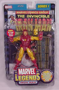 Toy Biz Iron Man Marvel Legends Series 1