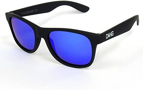 DANG SHADES LOCO vidg00240 Black Soft×Blue Mirror Polarized