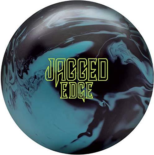 Brunswick Jagged Edge ソリッドボーリングボール スカイブルー/ブラック 15ポンド
