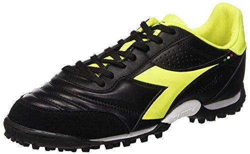 Brasil 44 5 Menns Eu 10 Tf Svart svart Neon Støvler Uk Diadora Lt Gul Fotball dqwdB7