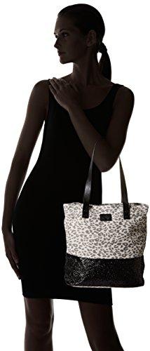 Cerises Leopard Temps Beverly Le 1 Paillettes Cabas Gris des qaz0xwPE