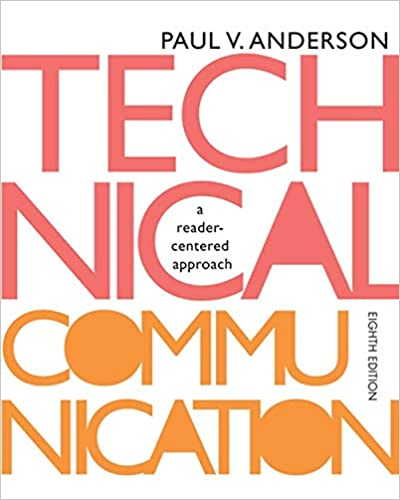 Technical Communication A Reader Centered