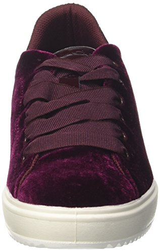 Rosso Women's velluto Trainers Si Low IGI 8770300 qSwPpp