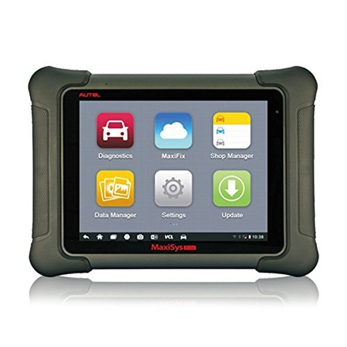 Autel Maxisys Elite Diagnostic Tool w/ U.S. Technical Support (Upgraded Version of MS908P Pro) with Wifi Bluetooth Full OBD2 Automotive Scanner with J2534 ECU Programming Extensive Vehicle Coverage