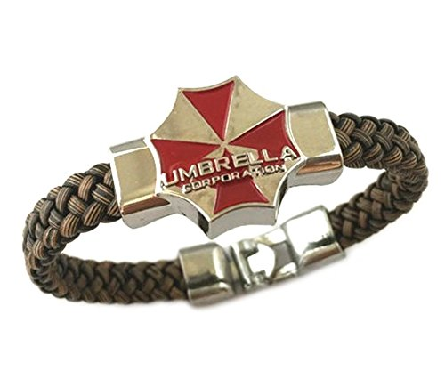 Resident Evil Umbrella Corporation Game PC Console Braided Bracelet With Gift Box from Outlander Gear]()