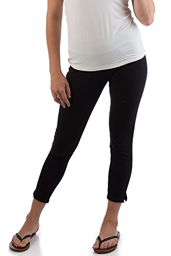 AUDS17 Extra Small Black BambooDreams Audrey Pencil Pants.