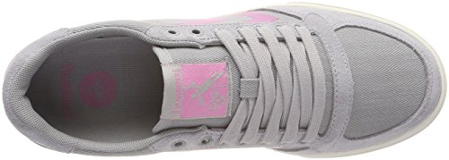 Hummel HB para Slimmer Mujer Alloy Gris Low Stadil Zapatillas r6xrqOwa4g