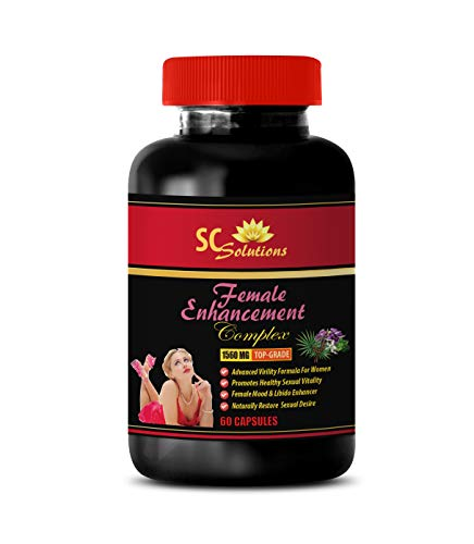 Female libido Enhancement Pill - Female Enhancement Complex 1560MG - Horny Goat Weed and Ginseng - 1 Bottle (60 Capsules)