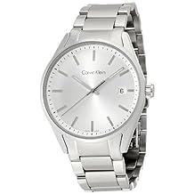 Men's Calvin Klein Formality Date Display Steel Watch K4M21146