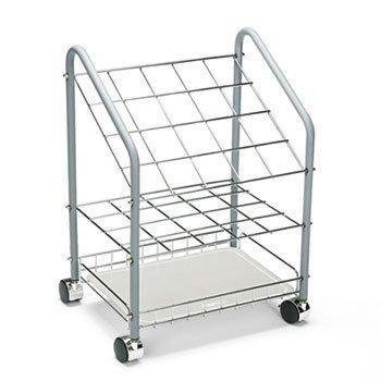 (Safco 3091 Wire Roll/File 20 Compartments 18w x 12-3/4d x 24-1/2h)