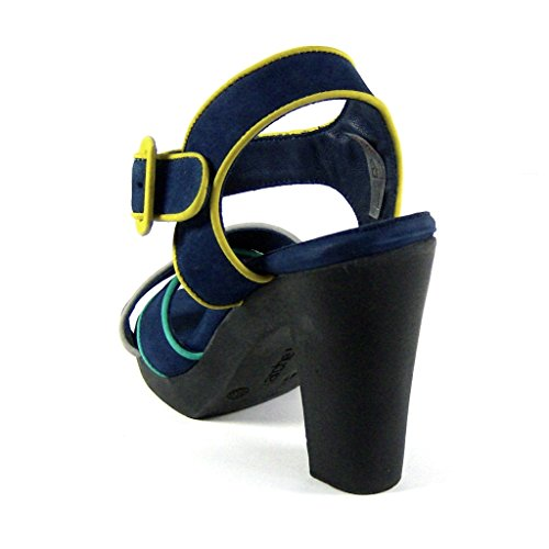 Nubuck Arche Piattaforma 7 Lyzzy 41 Blu Marina Uk Eu Sandali 5 Delle Donne IFFwqx6g