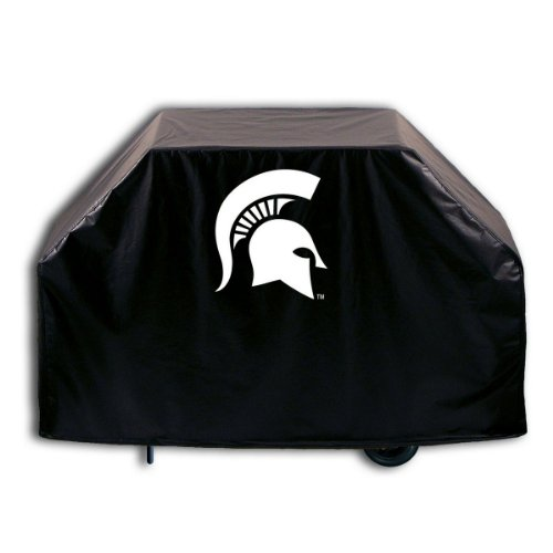(Covers by HBS Michigan State University Grill Cover with Spartan Logo on Stylish Black Vinyl)