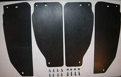 (1999-2012 Ford super duty rear Splash Shields set)
