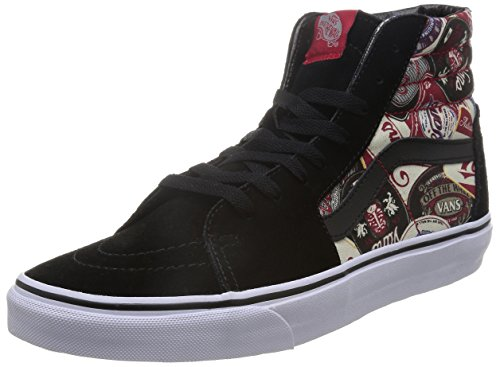 Sk8 Vans Multicolor Adulti Sneakers Alte Unisex hi Per Nero EaBxOzqwx