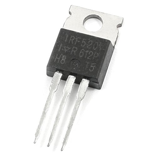 MOSFET - TOOGOO(R) 100V 9.7A N-Channel Power Pulled IR MOSFET Transistor IRF520 063456