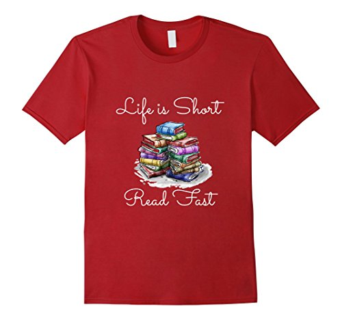 Men's Life is Short, Read Fast T-Shirt 2XL - Serial List Color