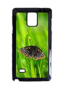 Baltimore Checkerspot Butterfly Customized Photo Design Durable Hard Case Cover For Samsung Galaxy Note 4