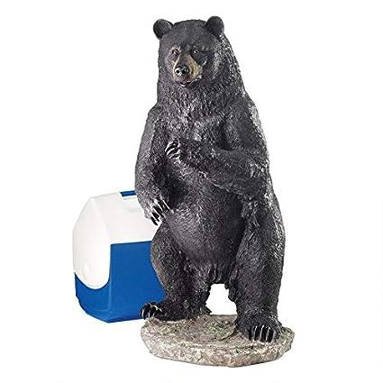 Amazon.com: Design Toscano Pesca para problemas de oso ...