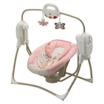 Fisher Price Twinkling Lights Spacesaver Cradle N Swing