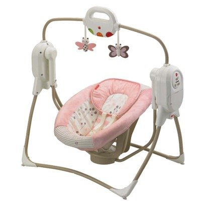 spacesaver fisher price swing - 8