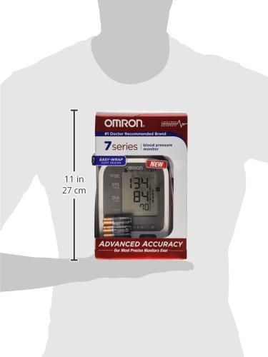 Omron 7 Series Upper Arm Blood Pressure Monitor with Two User Mode (120 Reading Memory) by Omron (Image #4)