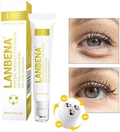 Eye Lifting Eye Serum,Anti-Puffiness Eye Serum,Wrinkle-Reduction Relieving Dark Circles Eye Massage Pen,for Eye Clearly Brighter Moisturizing,Remove Fine Lines Eye Bag For All Skin Types Serum