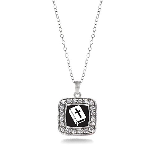 Holy Bible Classic Charm Necklace (Holy Bible Charm Jewelry)
