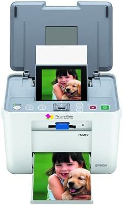 Amazoncom Epson Picturemate Dash Pm260 Compact Photo Inkjet