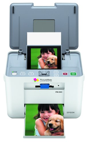Epson PictureMate Dash PM260 Compact Photo Inkjet Printer (C11C694201) (Old Version) by Epson