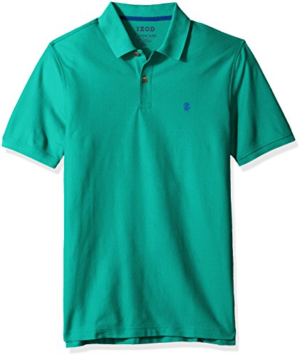 IZOD Men's Advantage Performance Polo-Regular Fit, deep Simply Green, XX-Large (Dry Sport Performance Polo)