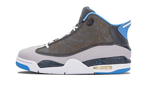 Nike Air Jordan Dub Zero Mens Scarpe Da Ginnastica Alte Top Basket 311046 Scarpe Da Ginnastica Scarpe Lupo Grigio Università Blu Classico Carbone 007