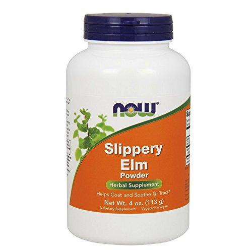 Bulk Elm Slippery (NOW Slippery Elm Powder,4-Ounce)