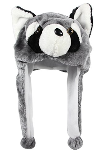 Bioterti Plush Fun Animal Hats –One Size Cap - 100% for sale  Delivered anywhere in USA