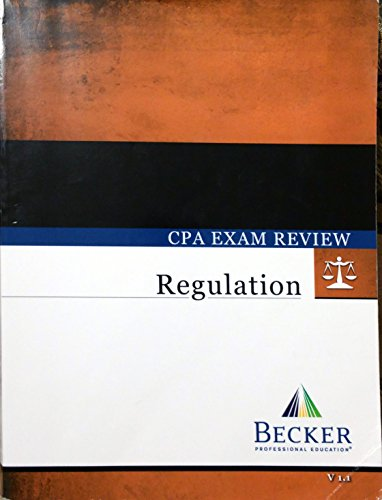 Becker cpa books for sale only 4 left at 65 becker cpa exam review regulation 2014 edition version for sale delivered anywhere in usa fandeluxe Choice Image