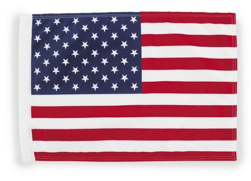 Pro Pad FLG-USA15 Sleeved 10 by 15-inch Motorcycle Flag with 1/2