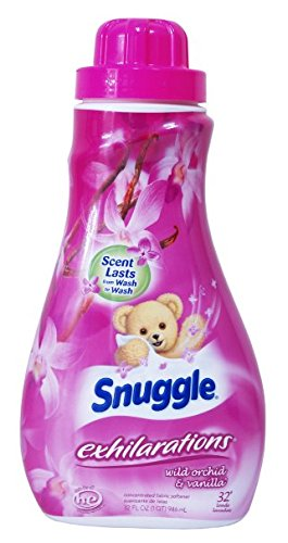 Snuggle Fabric Softener Wild Orchid & Vanilla 32 Loads, 32 fl oz (Pack of 2) by Snuggle Exhilarations