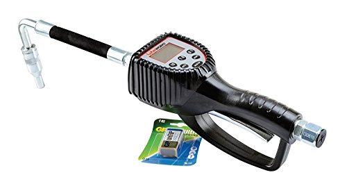 - LUBEWORKS Heavy Duty Air Operated Oil Transfer Pump and Control Valve (Oil Preset Meter Gun)