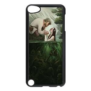 Ipod Touch 5 Little mermaid Phone Back Case Custom Art Print Design Hard Shell Protection DF066650