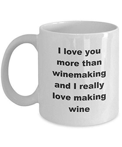 Winemaker Coffee Mug - Funny Vintner Tea Cup For Mom Dad Daughter Son Winemakers Helper Novelty Gift