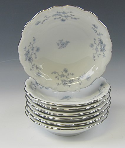 Blue Garland Dessert Bowls (Lot of 7 Johann Haviland BLUE GARLAND Fruit and Dessert Bowls EXCELLENT)