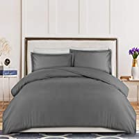 3 Piece Duvet Cover Set, Duvet Cover Plus 2 Pillow Shams, Luxury Soft Hotel Quality Wrinkle, Fade and Stain Resistant by...