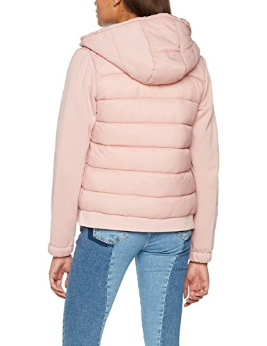 Rosa 76 Con Donna pink Cappuccio 8272565 Giubbotto Springfield qw0nX1fP