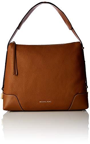 Michael Kors Womens Crosby Shoulder Bag Brown (Acorn) (Michael Kors Uk)