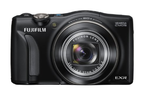 FUJIFILM Digital Camera FinePix F800EXR (Black) 16MP EXR-CMOS Wide angle24mmOptical Zoom20