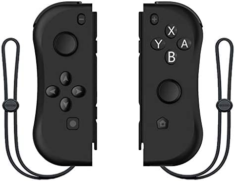 XZBBH Nintendスイッチコンソール用のワイヤレスBluetooth左右Joyconゲームコントローラーゲームパッド用NintendスイッチNS Joyconゲーム (色 : D)