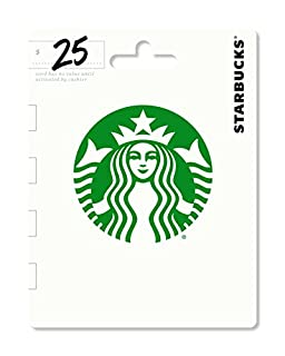 Starbucks Gift Card $25 - Packaging may vary (B00AR51Y5I) | Amazon Products