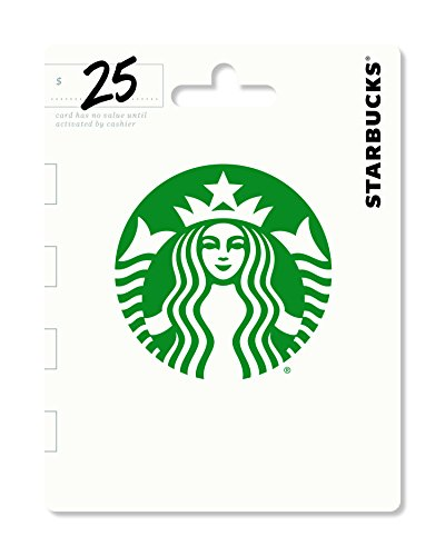 Starbucks Gift Card $25 - Packaging may vary]()